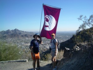 2006 – The top of N Mountain, summit #7, of the Phoenix Summit Challenge.
