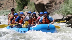2007 – White water rafting on the Arkansas River in Colorado.