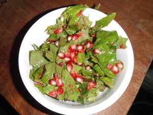 Red Dandelion Salad