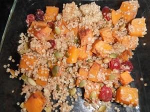 Butternut Cranberry Quinoa