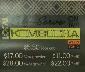 Kombucha on Tap